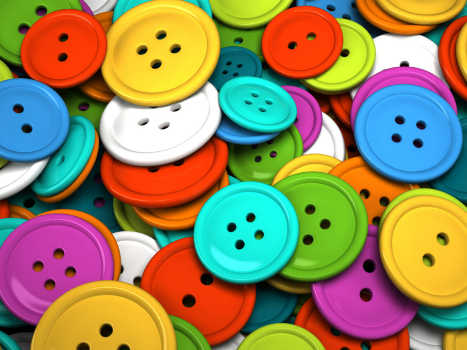Buttons in all shapes and sizes